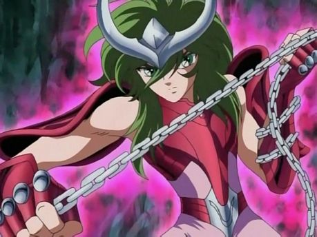 Andromeda Shun from Saint Seiya